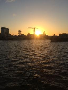The beautiful sunrise!